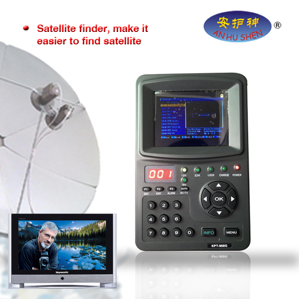Nova Dezajno Digital Satellite Finder por televido