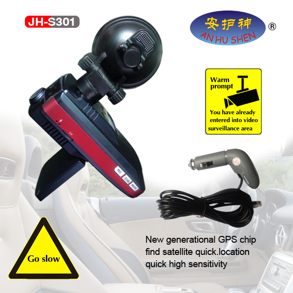 Mobile Electronic Dog Radarmiessungen Detectors fir Car
