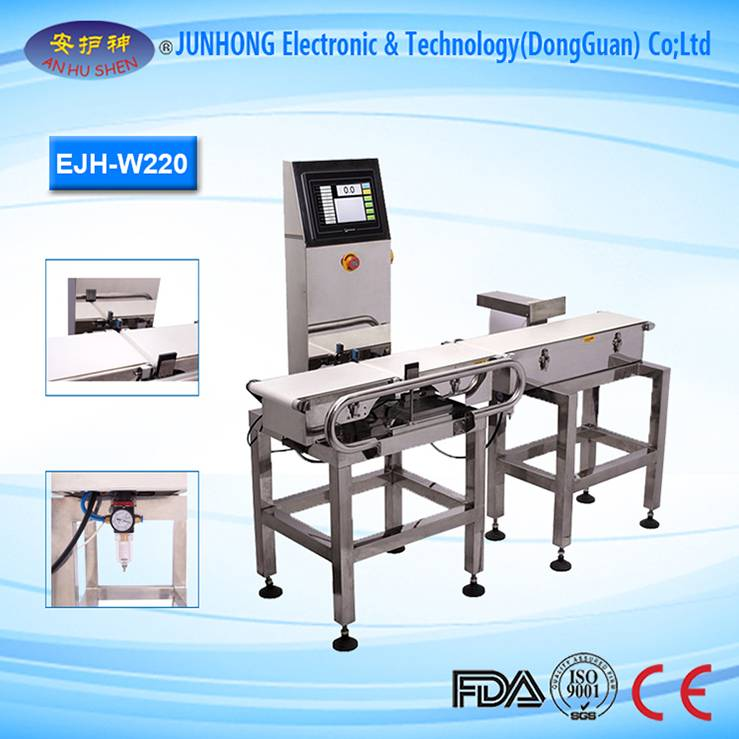 China Manufacturer for Metal Detector Set - Professional Combo Check Weigher And Metal Detector – Junhong
