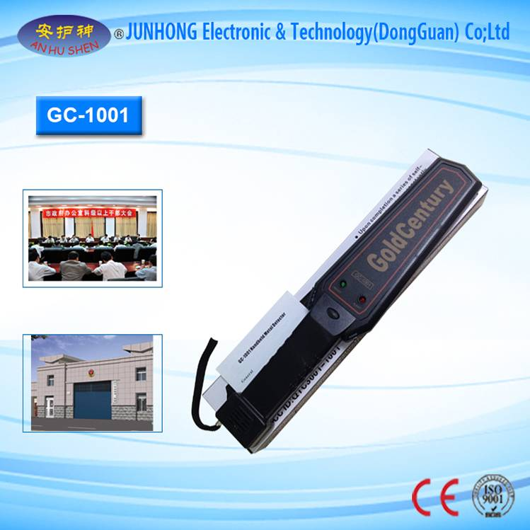 Factory wholesale Digital Image Dental Scanner - Security Inspection Hand Held Metal Detector – Junhong