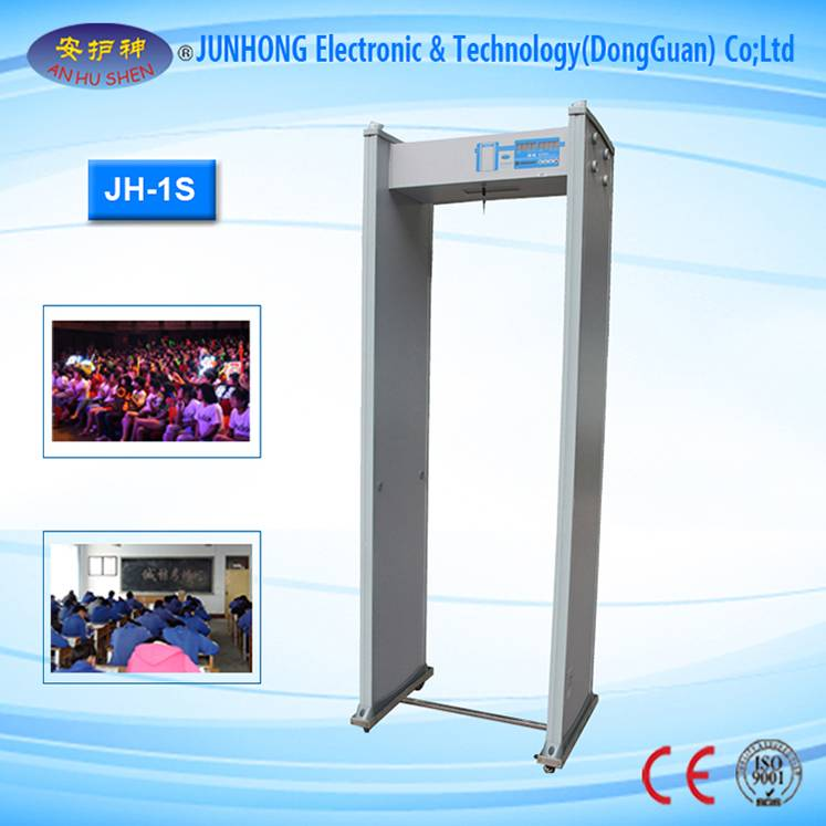 factory customized Baggage X Ray Machines - LED Light Alarm Walkthrough Metal Detector – Junhong