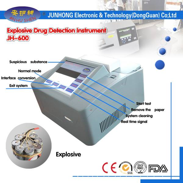 Personlized Products Check Weigher For Package - Wide Application Desktop Bomb Detector – Junhong