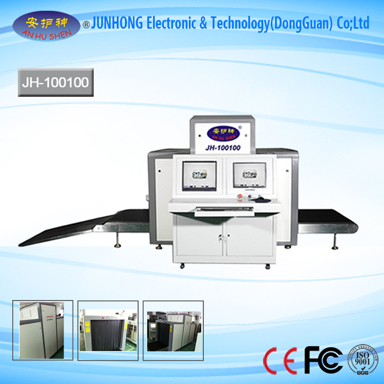 Gambar calakan Warna Conveyor X-Ray bagasi scanner