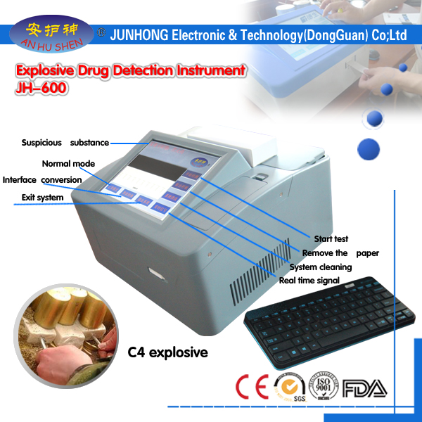 İki Detection rejimi ilə Drugs Detector