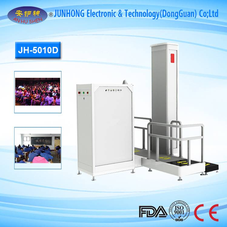 OEM Customized x ray scanner machine for food - Prison Security Using X-Ray Body Scanner – Junhong