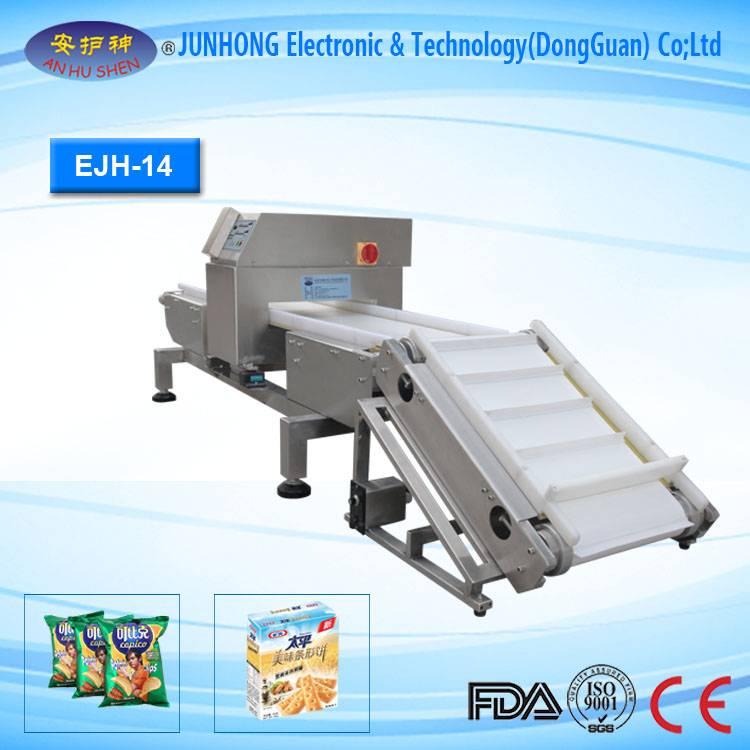 Bakery Products Conveyor Belt Metal Detector