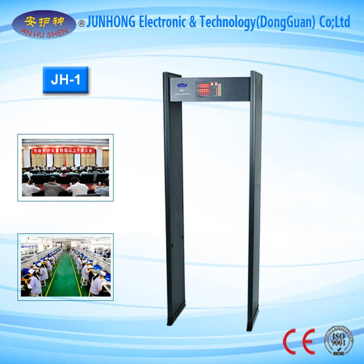 Factory wholesale Ce Ray X Price Machine Dental - Multi-Zone Walk Through Metal Detector – Junhong