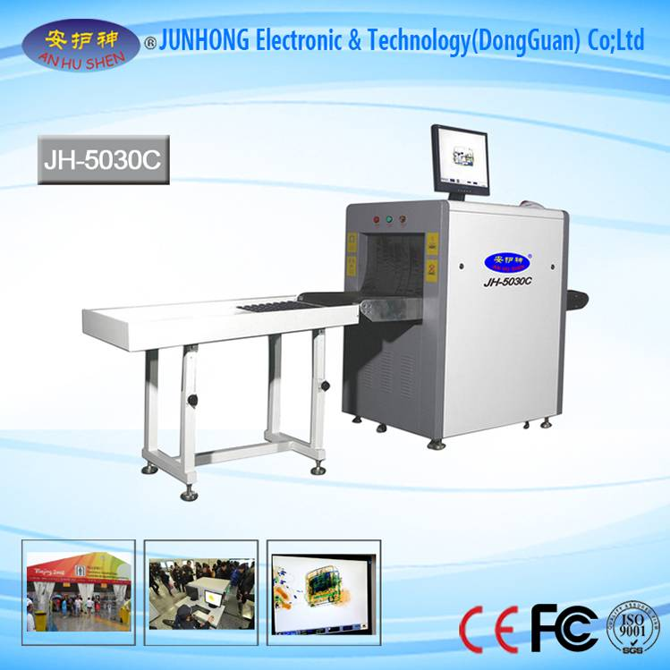 CE Approved High Sensitivity X-Ray Scanner For Subway