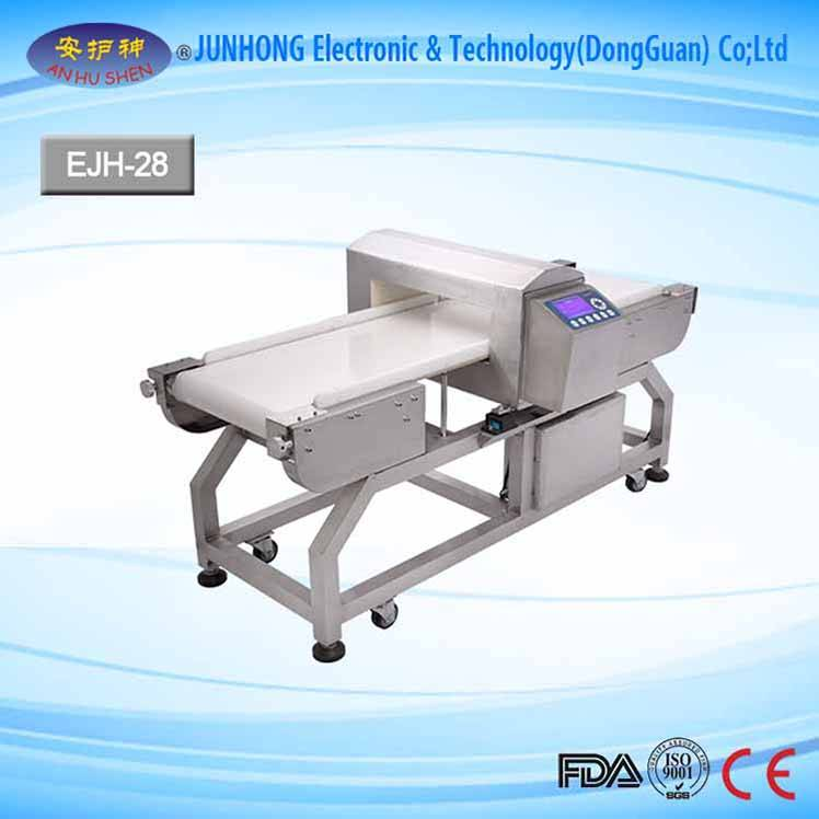LCD Screen ilə Stable Garment Metal Detector