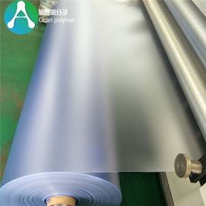 Different size transparent frosted pvc sheet