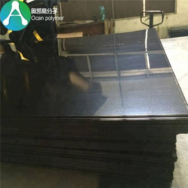 High Gloss Sufrace Moldable Thin Flexible Black PlastiC Sheets PVC Film Featured Image