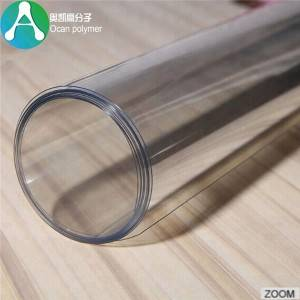 Factory making Stretch Ceiling Film In Pvc Vinyls – Factory supply clear plastic PET sheet for food grade – OCAN Polymer