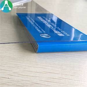 printable PET transparent film para sa offset printing
