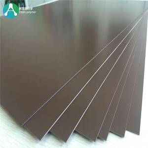 1.5mm Rigid Plastics blad Gekleurde pvc- Blad voor Furniture Laminering