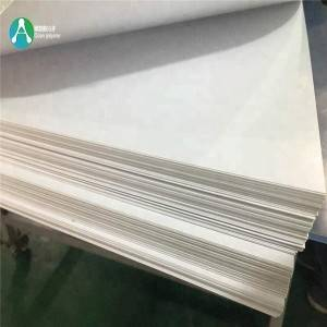 4 × 8 თეთრი Rigid Vinyl (PVC) Gloss / Matte Sheets