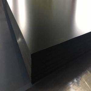 Matte black rigid PVC Sheet foar cooling toer