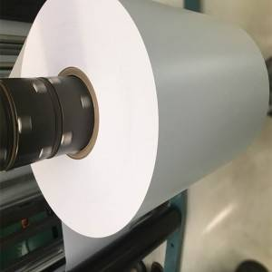 Hvit stiv PVC film materiale for utskrift