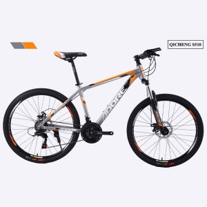PDS510 Front Suspension Mountain Bike 26″ MTB Bicycle Double Ball Rim