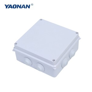 Waterproof Junction Box (ar aizbāzni)