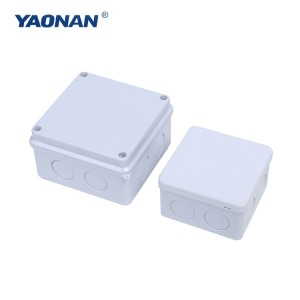 Waterproof Junction Box (Bila Stopper)