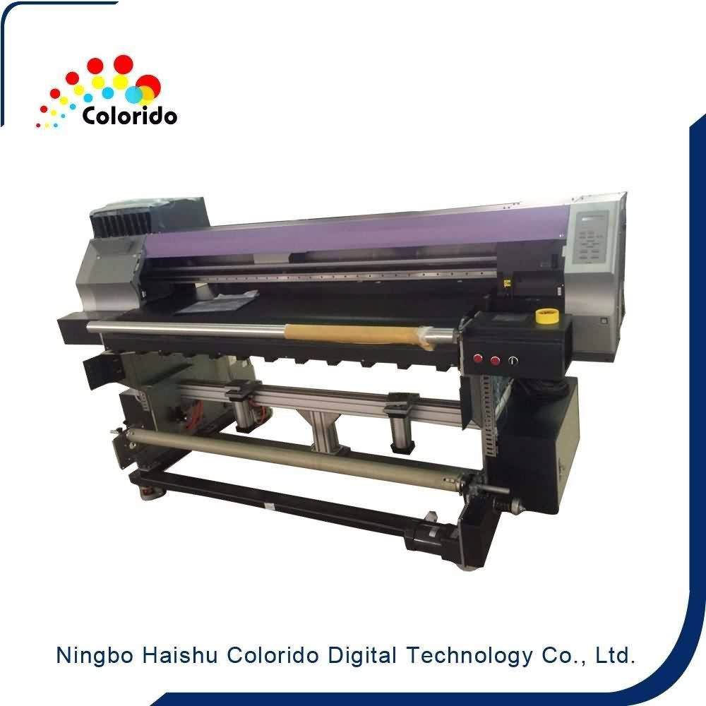 30 Years Factory DX5 head belt textile printer directly on all kinds fabrics for UK Factory detail pictures