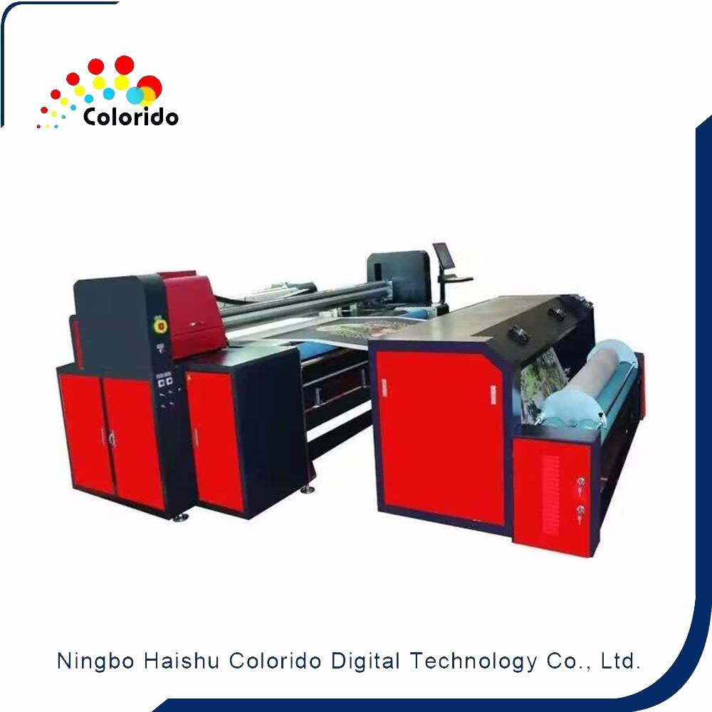High Resolution Multi-functional Textile Printer detail pictures