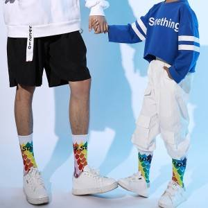 Full color sublimation socks sock printing comfortable socks