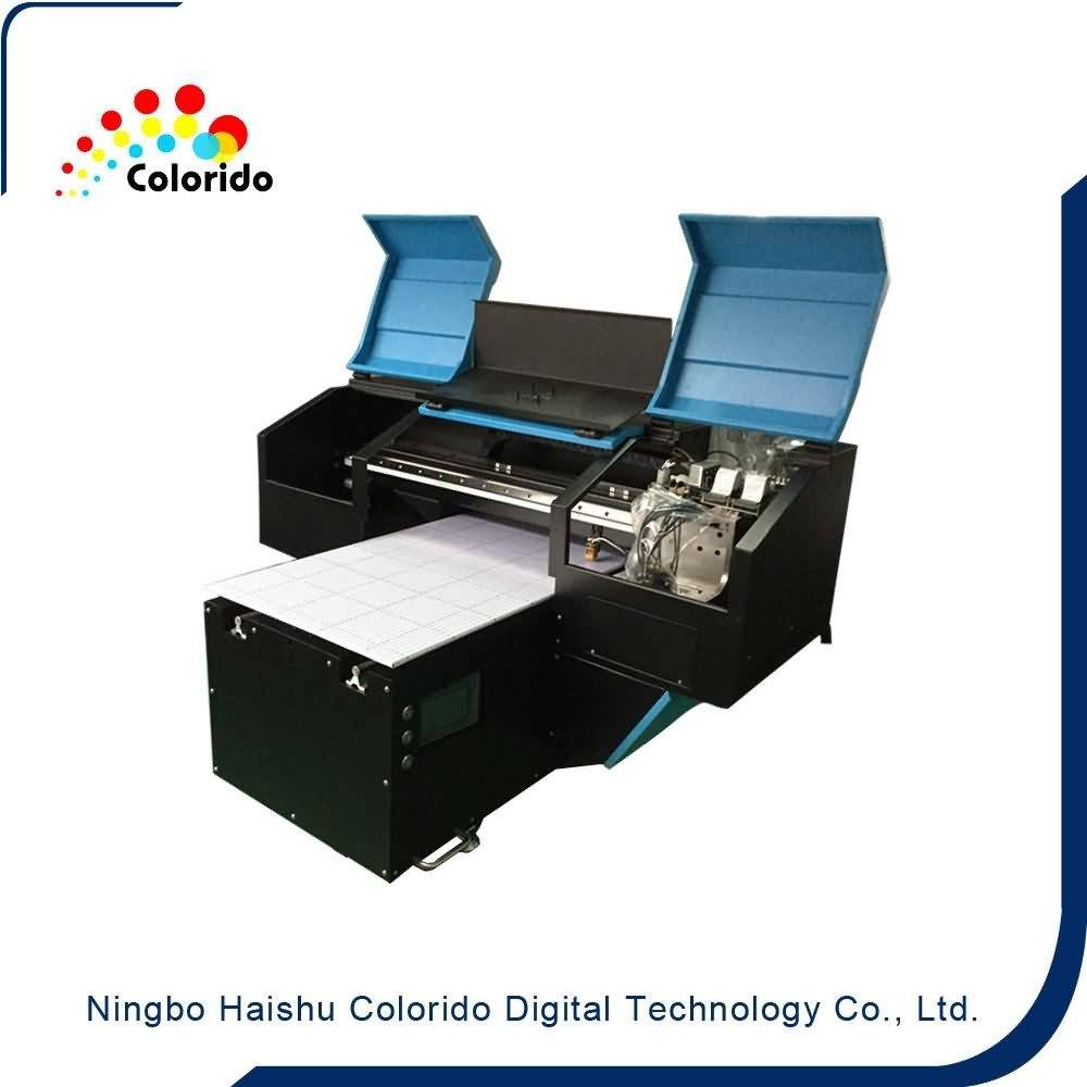 small format Multi-Functional Flatbed UV digital printer