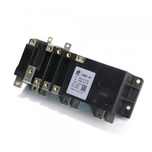High current DC link film capacitor for electric drivetrain inverters