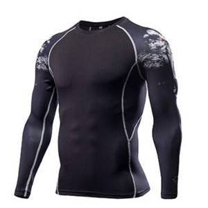OEM dry fit polyester sublimated running shirt