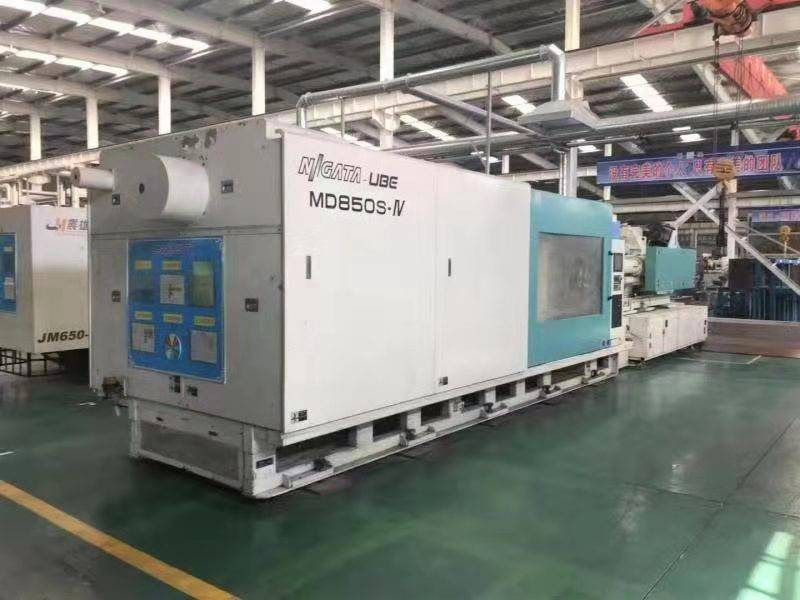 Niigata 850t All-Electric used Injection Molding Machine Featured Image