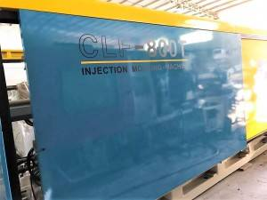 Chuan Lih Fa CLF-800 (servo) used Injection Molding Machine.