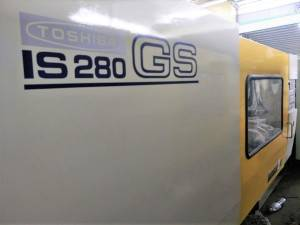 Toshiba 280t (IS280GS) Used Plastic Injection Molding Machine