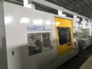 Toshiba 1300t (wide platen) used Injection Molding Machine