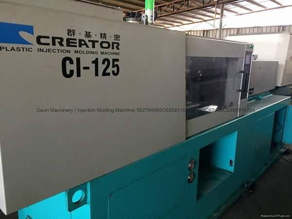 Creator 125t CI-125 Used Injection Molding Machine