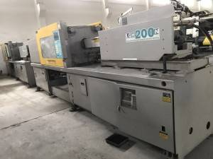 LG 200t LGH200N Used Plastic Injection Molding Machine