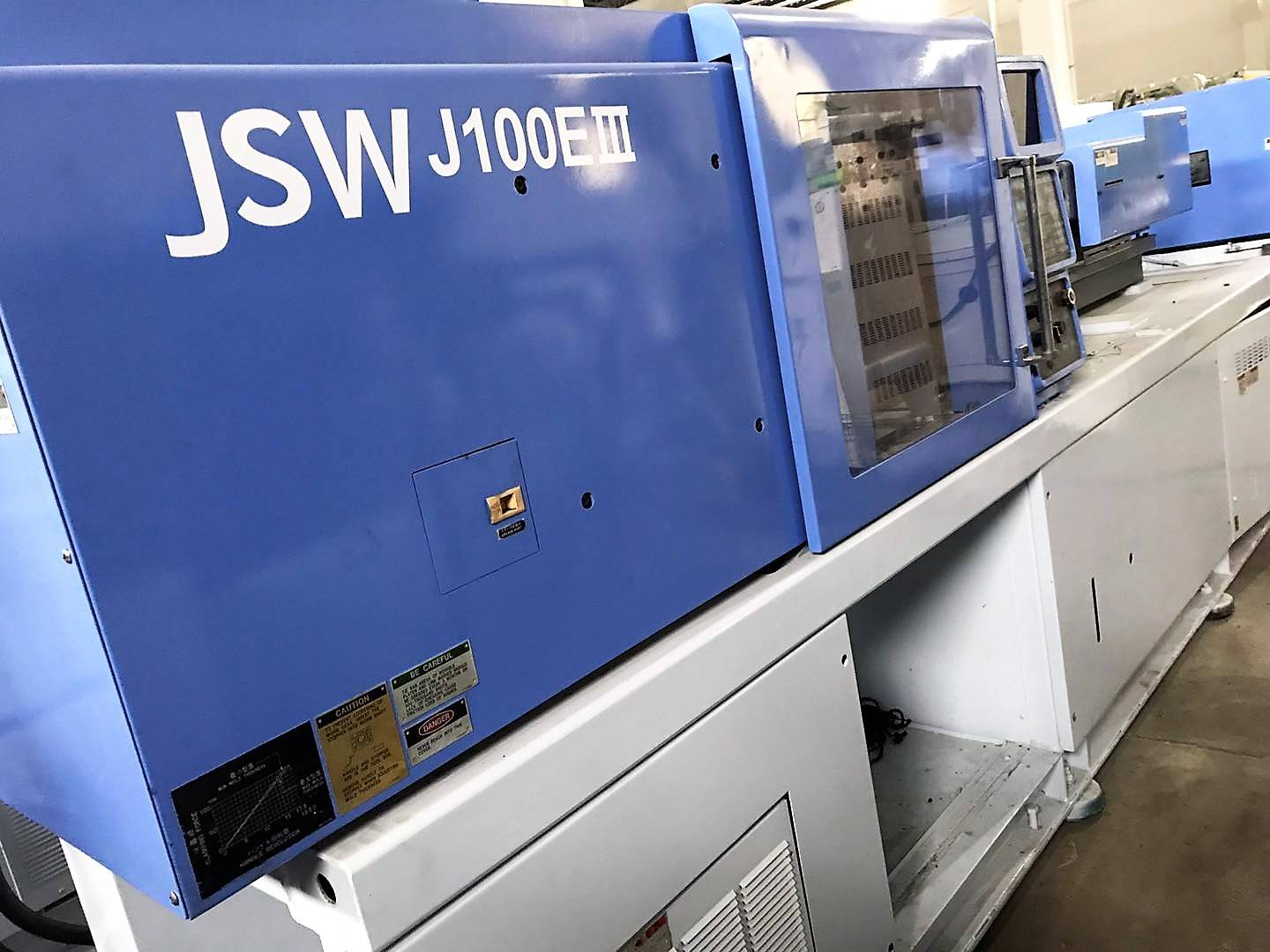 JSW100t (J100EIII) used Injection Molding Machine Featured Image