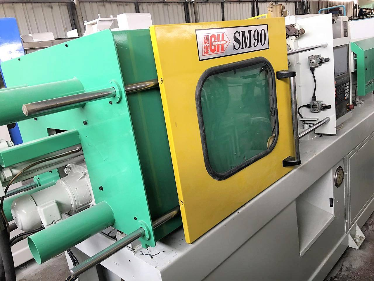 Chen Hsong Supermaster 90t (SM90) used Injection Molding Machine Featured Image