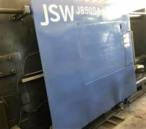 JSW 850t J850SA used Injection Molding Machine