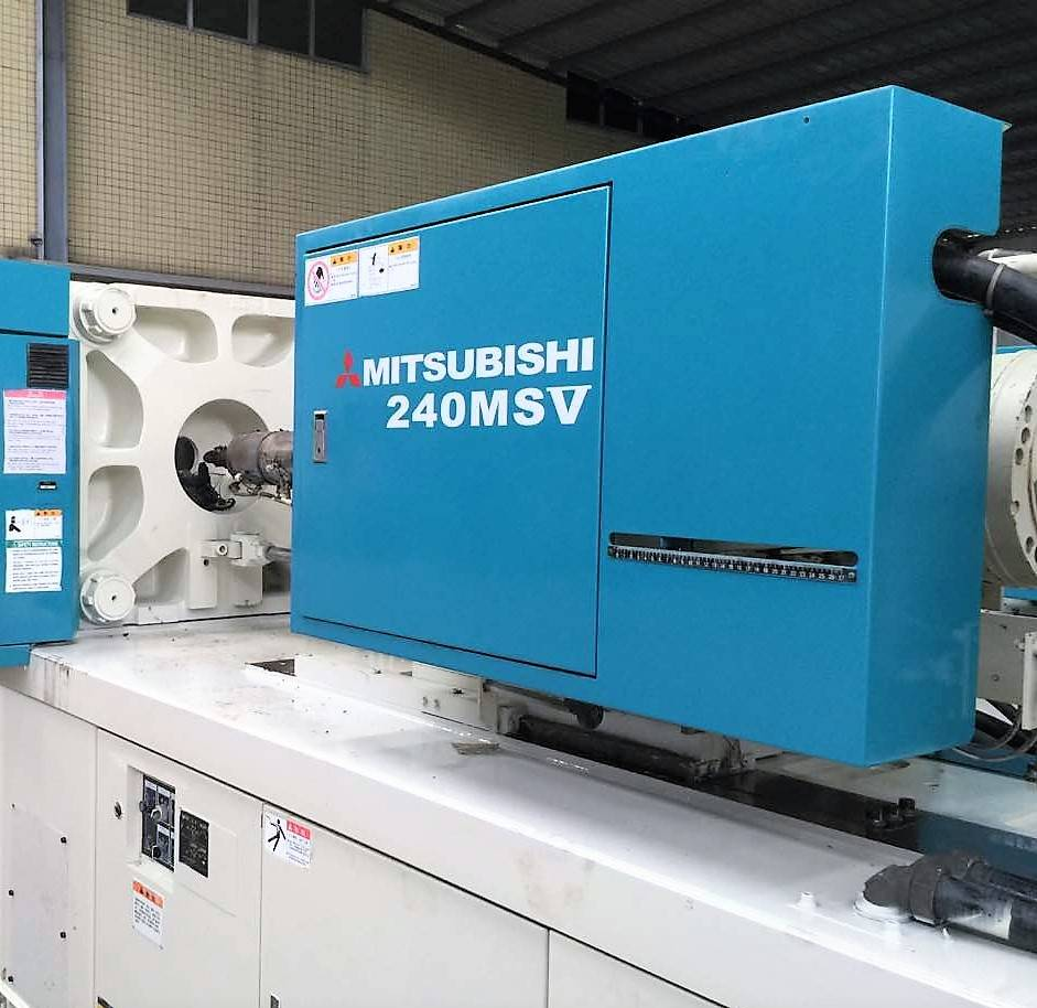 Mitsubishi 240t (240MSV) used Injection Molding Machine Featured Image