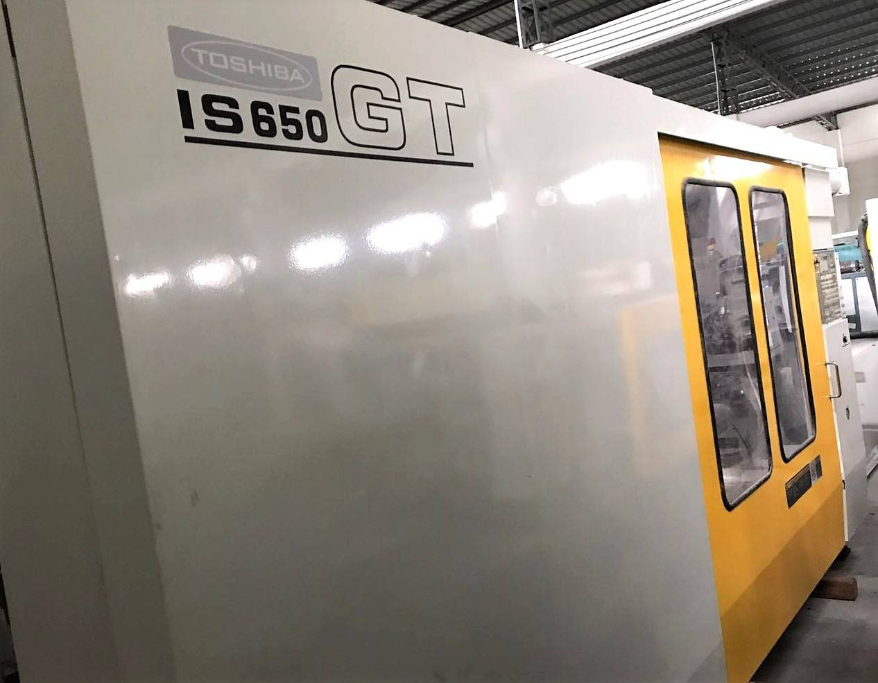 Toshiba 650t (IS650GT) Used Injection Molding Machine Featured Image