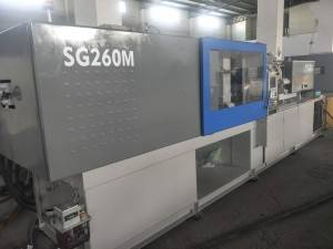Sumitomo 260t SG260M (high speed) used Injection Molding Machine.