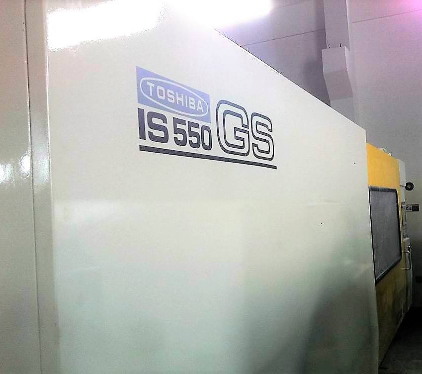 Toshiba 550t (IS550GS) used Injection Molding Machine Featured Image