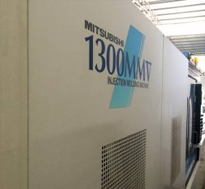 Mitsubishi 1300t (1300MMV) Used Injection Molding Machine