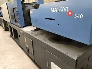 Haitian 160t (servo motor) MA160 used Injection Molding Machine