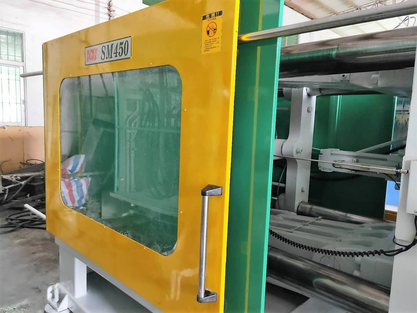 Taiwan Chen Hsong Supermaster SM450 used Injection Molding Machine Featured Image