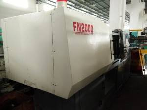 Nissei FN2000 (120t) used Injection Molding Machine