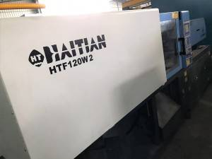 Haitian 120t HTF120W2 used Injection Molding Machine