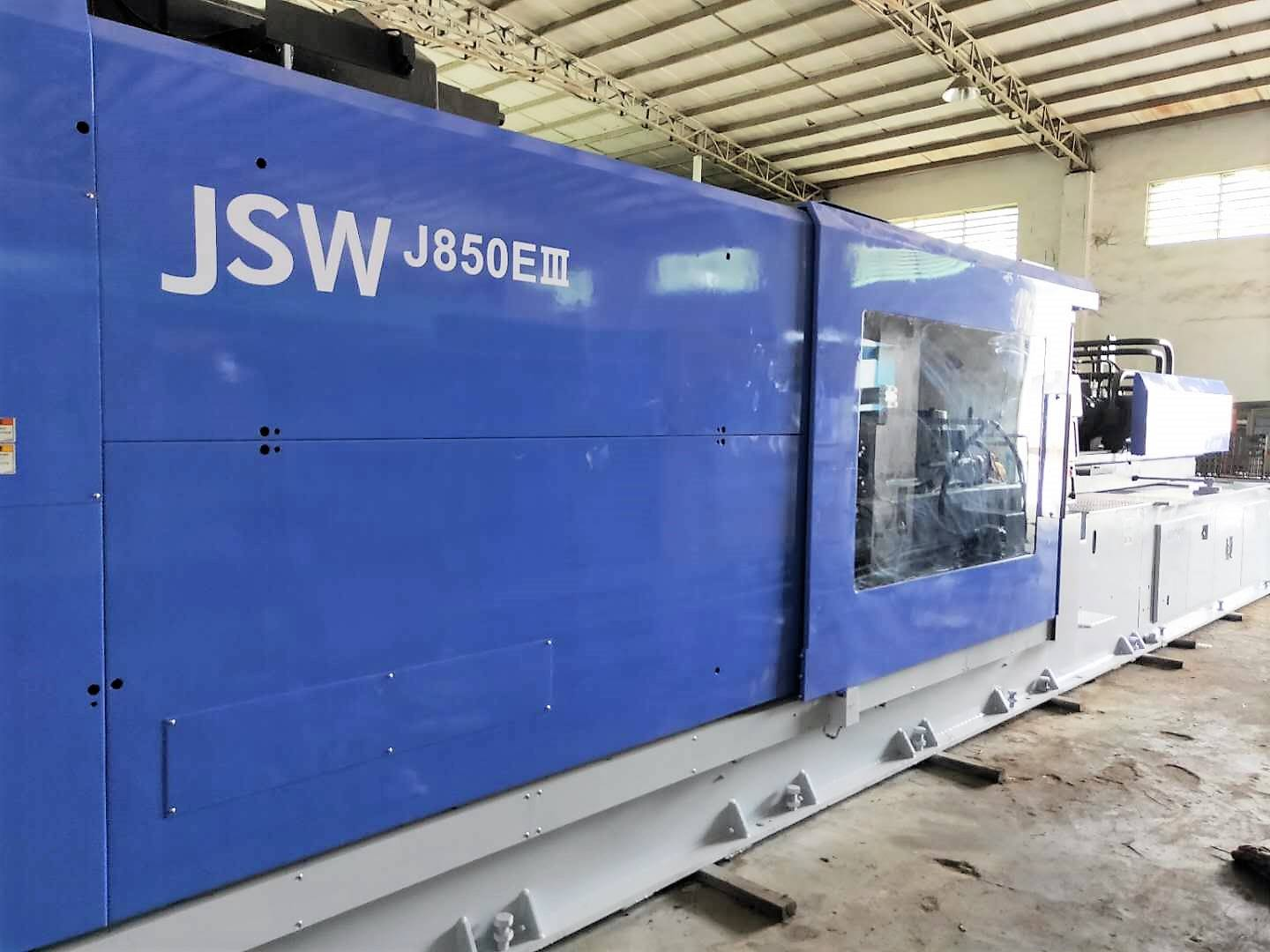 JSW 850t used Plastic Injection Molding Machine Featured Image