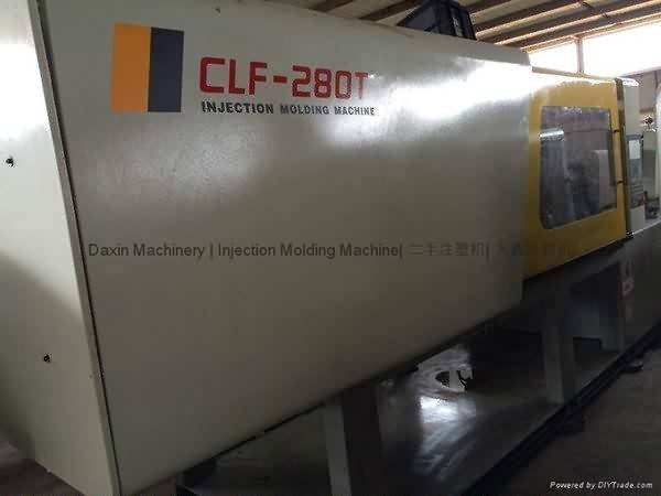 Chuan Lih Fa CLF-280t istifadə Injection Molding Machine